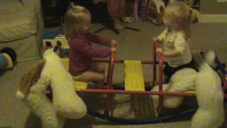 Kate and Sophie SeeSaw!