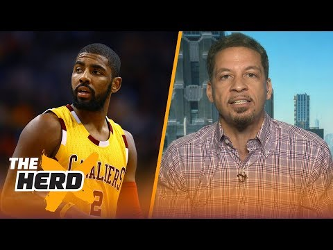 Chris Broussard on Kyrie Irving trade rumors, details how LeBron to Lakers could work | THE HERD