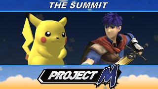 Summit - Ally (Ike) vs Anther (Pikachu) - Loser's Finals - Project M