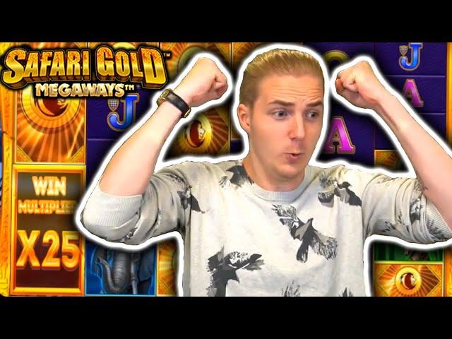 BIG WIN on SAFARI GOLD MEGAWAYS - Casino Slots Big Wins