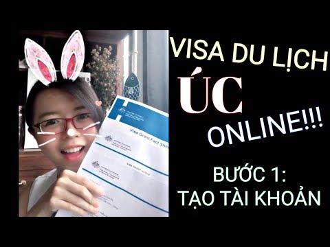 VISA Du Lịch Úc ONLINE (visa e600) - Phần 1: Tạo Tài Khoản