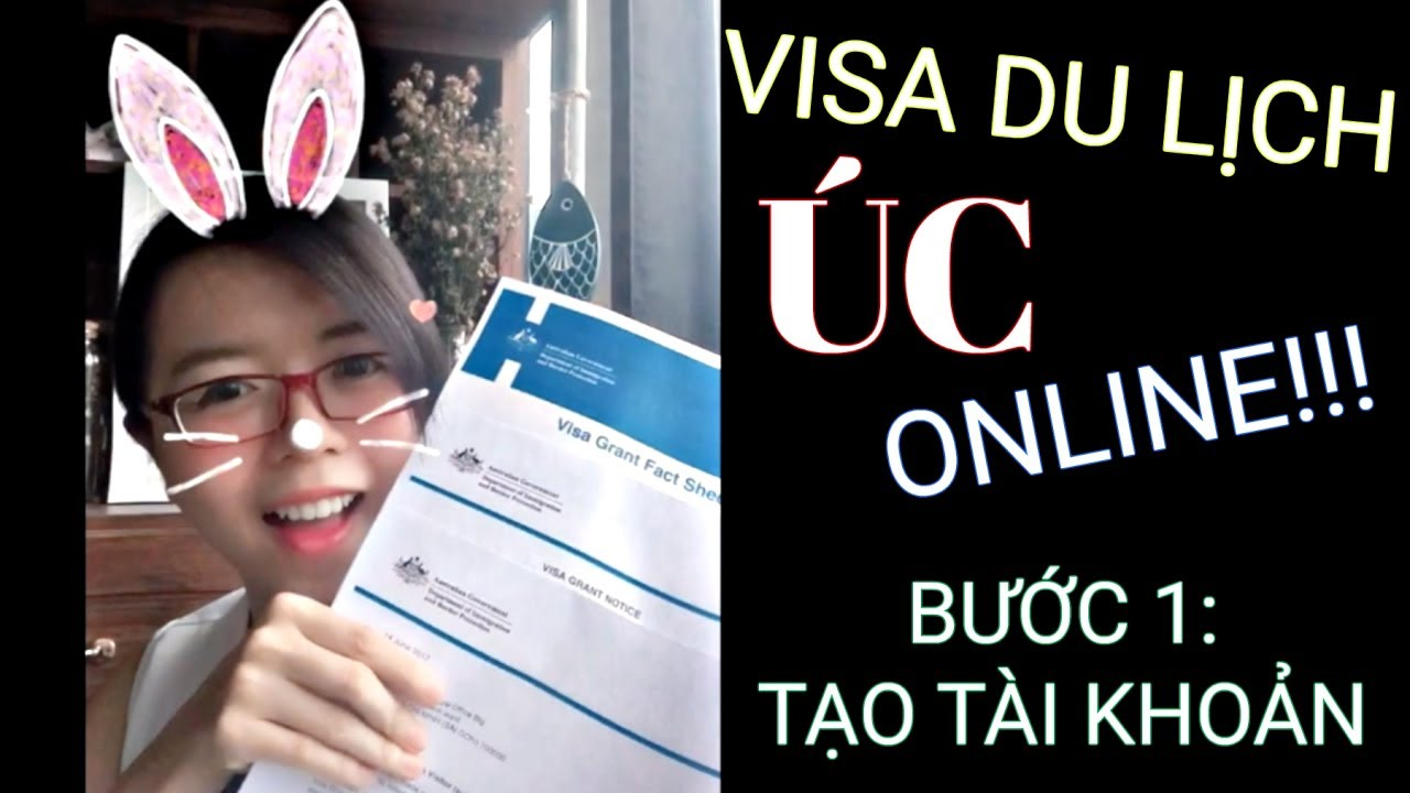 VISA Du Lịch Úc ONLINE (visa e600) – Phần 1: Tạo Tài Khoản