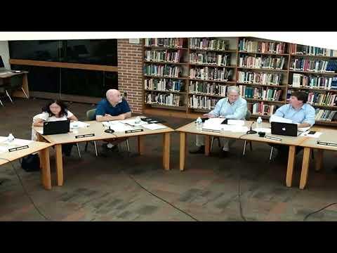 Region 9 Board of Education Meeting @ Joel Barlow High School - August 20th, 2019