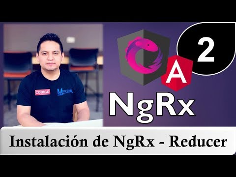02 - Tutorial de NgRx con Angular - instalación de NgRX - Dispatch actions y más thumbnail