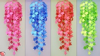 WOW !!! Very Easy And Simple || How to Make Paper Wall Hanging || Paper Craft Easy