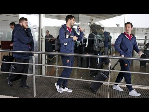 FC Barcelona: Trip to London