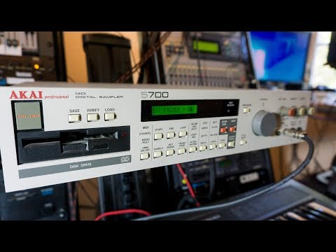 Akai S700 Sampler - Pure magic for next to nothing!