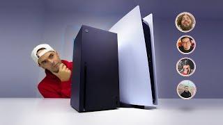 PLAYSTATION 5 vs XBOX series X: YouTubers FAMOSOS decidem qual a melhor