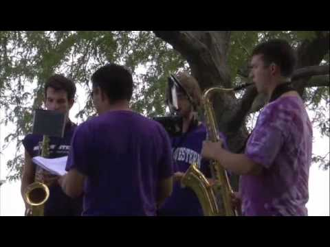Northwestern University Wildcat Marching Band - The Finest Band in the Land