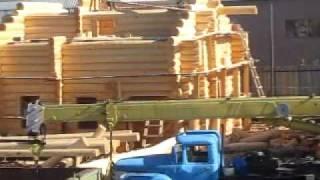 Еще один обзорный вид на срубы домов и бань www.spbrb.ru(Изучение тонкостей ручной рубки проще проводить на строительной площадке, наблюдая за плотниками строител..., 2010-06-26T06:57:13.000Z)