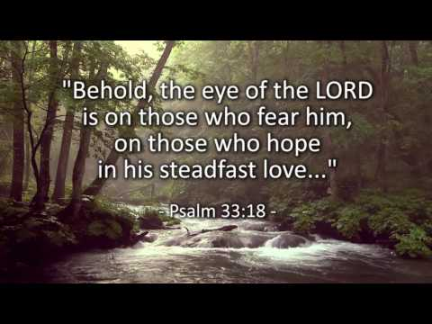 I Will Wait- based on Psalm 33