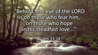 I Will Wait- based on Psalm 33