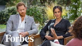 The Numbers Behind Oprah's Meghan Markle And Prince Harry Interview | Forbes