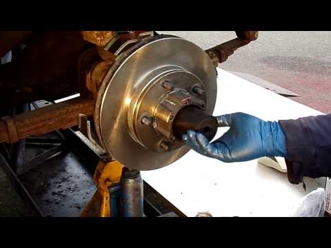 Front Brake Disc Conversion Kit for IH Scout 800