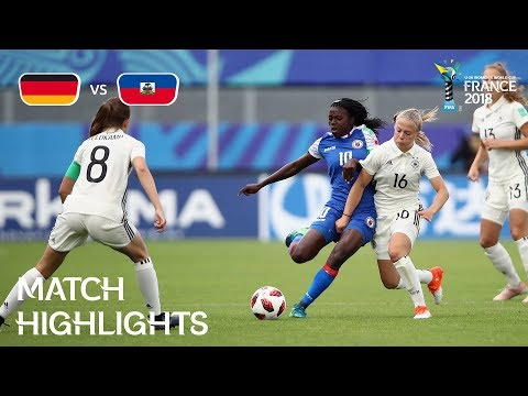 Germany v. Haiti - FIFA U-20 Women's World Cup France 2018 - Match 23