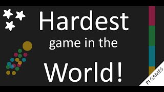 Hardest game in the world! Game play