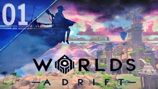 Getting Started in Worlds Adrift: A First Look | Worlds Adrift #1