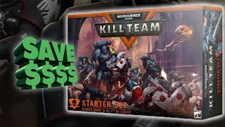 New Starter Set Value: Kill Team Unboxing Warhammer 40k