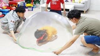 Boram faz um lodo gigante ♥ Boram and friends make a Giant slime