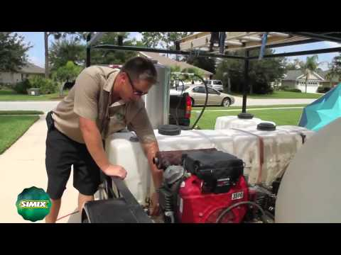 Simix for Contractors: How to Set Up Roof Cleaning Equipment