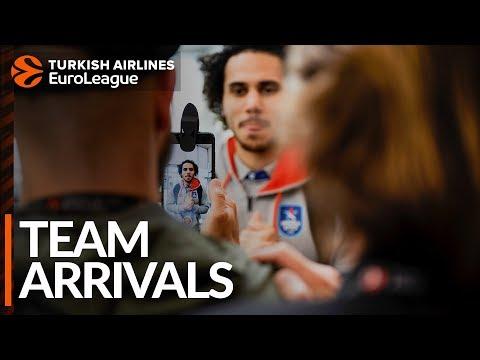 Team Arrivals: Anadolu Efes Istanbul