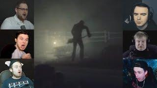 """""""Реакции Летсплейщиков"""" на Могильщика с Лопатой из Rise of Insanity"""