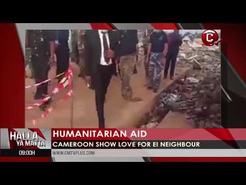 Cameroon show love for e neighbor