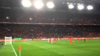 Nederland-Hongarije 8-1