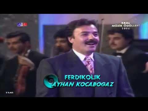 Ferdi Tayfur-1994 Kral TV Müzik Ödülleri