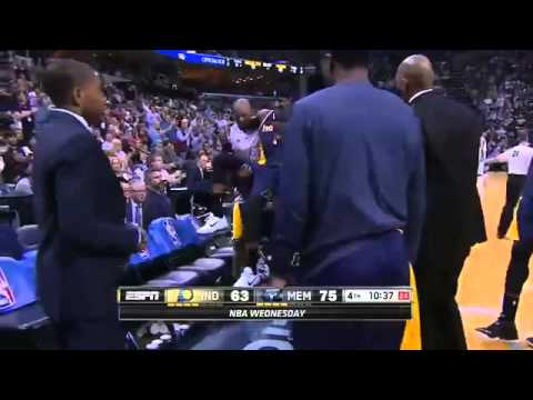 Indiana Pacers vs Memphis Grizzlies - Highlights - April 15, 2015  NBA Season 2014-15