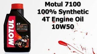 Motul 7100 Fully Synthetic 4T Engine Oil 10W50