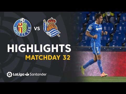 Getafe Real Sociedad Goals And Highlights