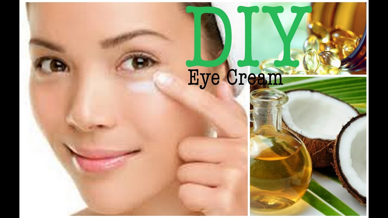 Diy Eye Cream Coconut Oil Amp Vitamin E Youtube