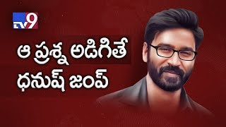 Dhanush fumes over Suchi Leaks question, leaves TV9 Interview!