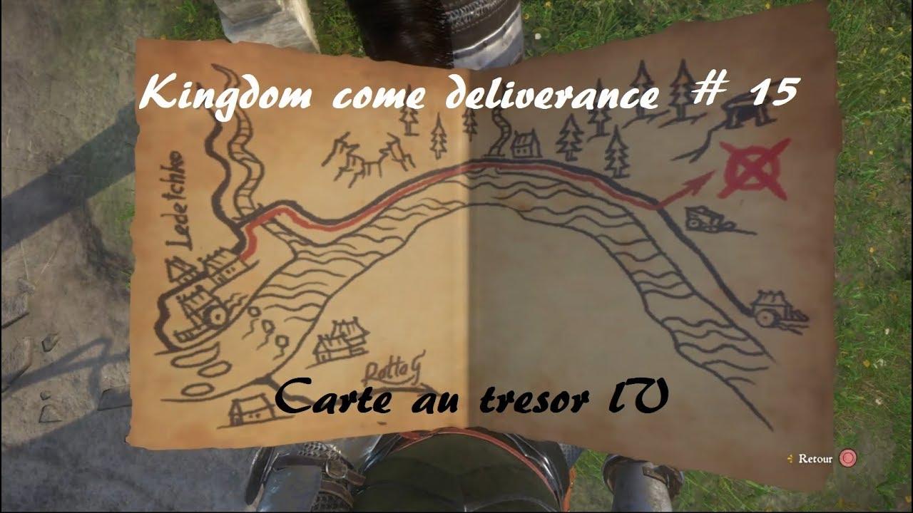 Carte Au Tresor Xviii.Kingdom Come Deliverance Carte Au Tresor Iv