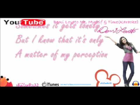 Demi Lovato Me, Myself & Time Karaoke HQ W/ Lyrics
