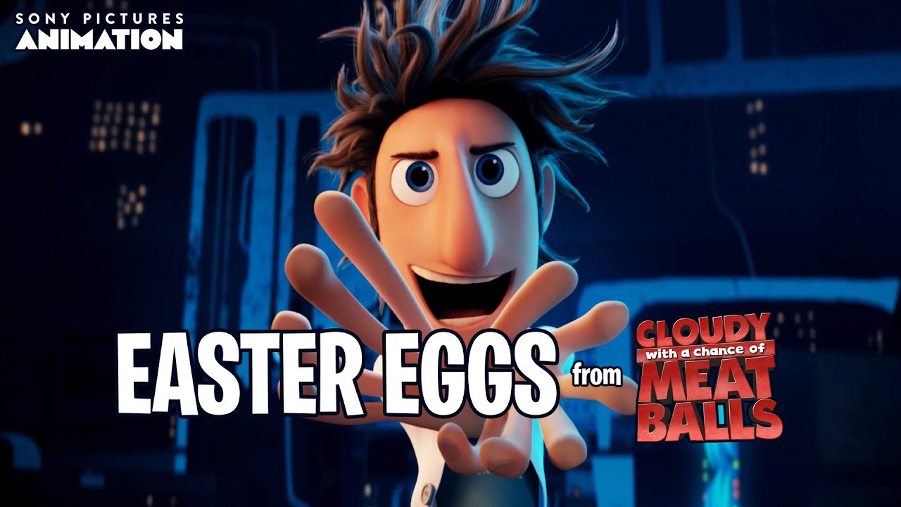 Download Hidden Easter Eggs in Cloudy with a Chance of Meatballs