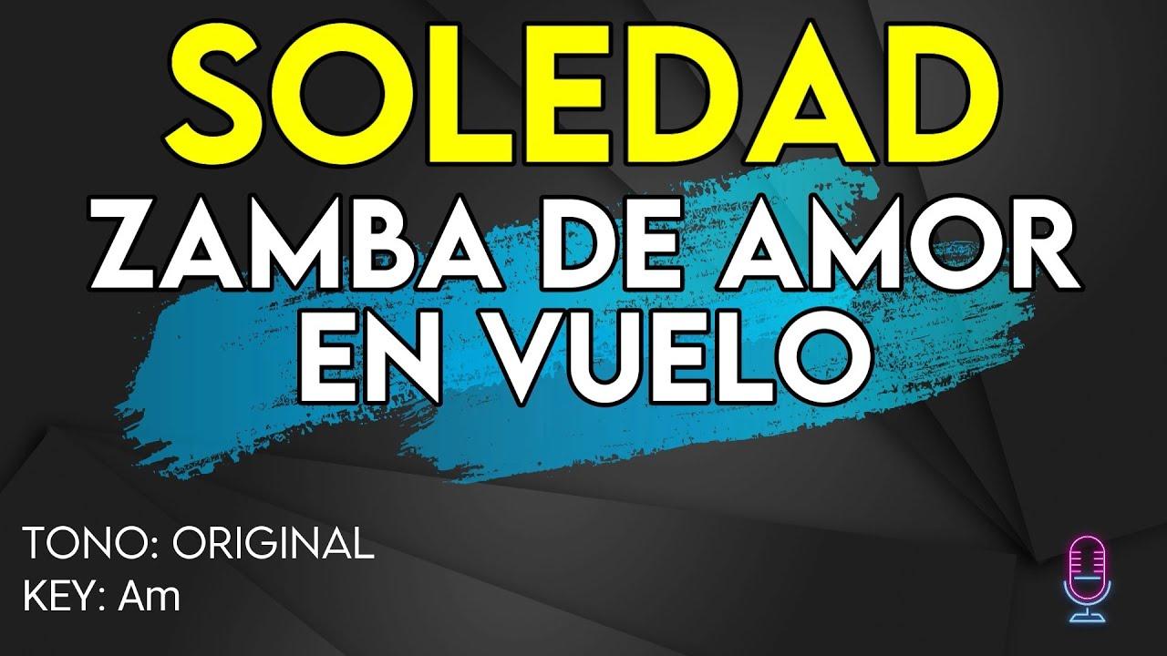 Soledad - Zamba de Amor en Vuelo (La Voz Argentina 2021) - Karaoke Instrumental