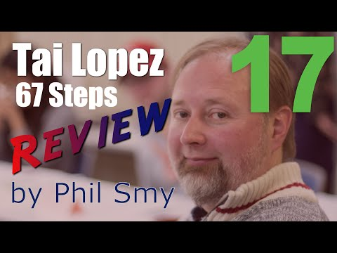 Tai Lopez 67 Steps Review - Step 17 - 4-Hour Workweek