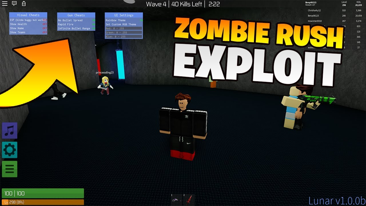 Roblox Zombie Rush Script - Wholefed org