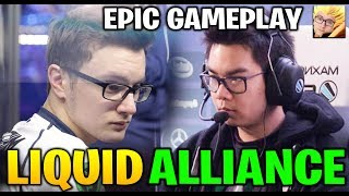 LIQUID vs ALLIANCE - CRAZY GAMEPLAY! Epicenter Major 2019 Dota 2