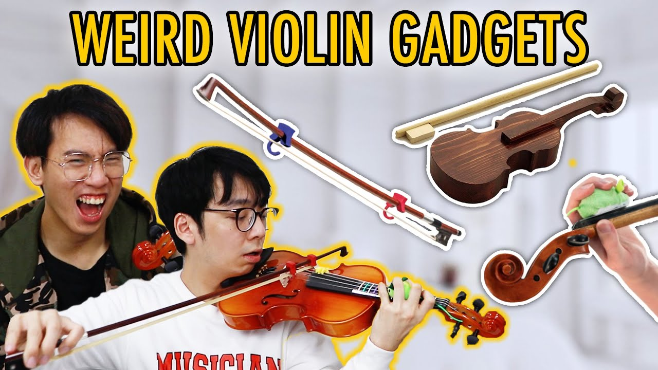 Trying the Most USELESS Violin Gadgets