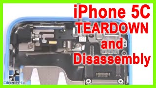 How to iPhone 5c Teardown & Disassembly Directions