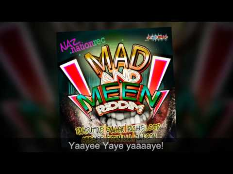 Mad  Meen Riddim Mix (Naz Nation Rec) Dj Naz