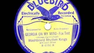 """Georgia On My Mind"" - The Washboard Rhythm Kings (1931 Bluebird/RCA Victor)"