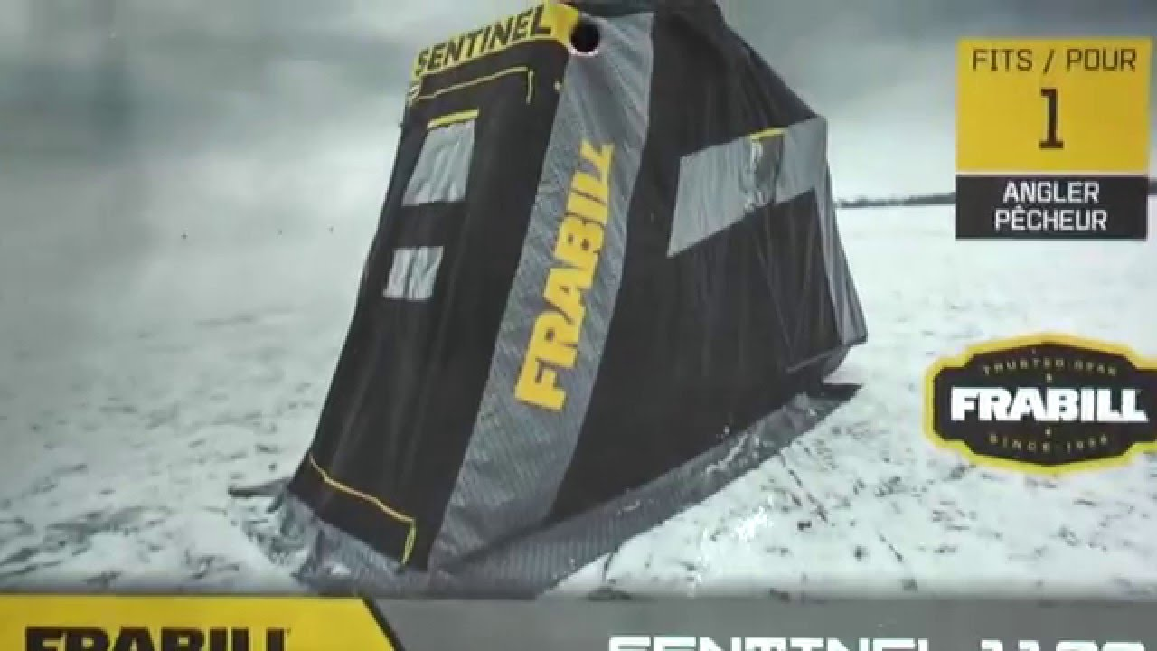 Frabill Sentinel Ice Shelter Review