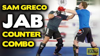 Vicious COUNTER to a Jab (inside slip) - by Sam Greco