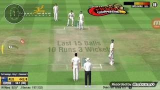 World Cricket Championship (WCC2) cheat