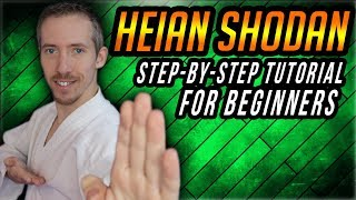 Shotokan Kata Heian Shodan Step By Step