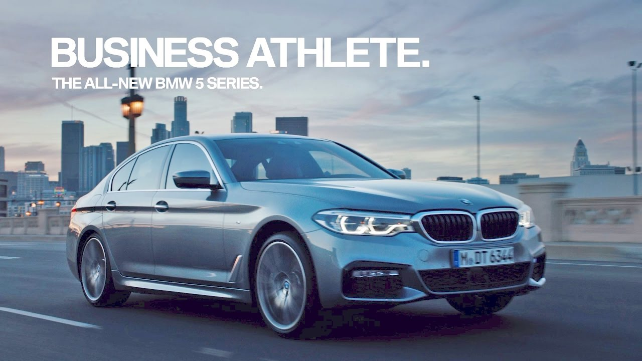 Bmw 5 Series 2017 Tv Commercial
